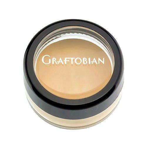 Graftobian HD Crème Foundation Corrector 1/4oz, Yellow Hi-Lite (Deep Red & Purple ()