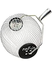 Roll-In Quick-Pick Collector for Small Fruits and Nuts (Also Works for Golf Balls)