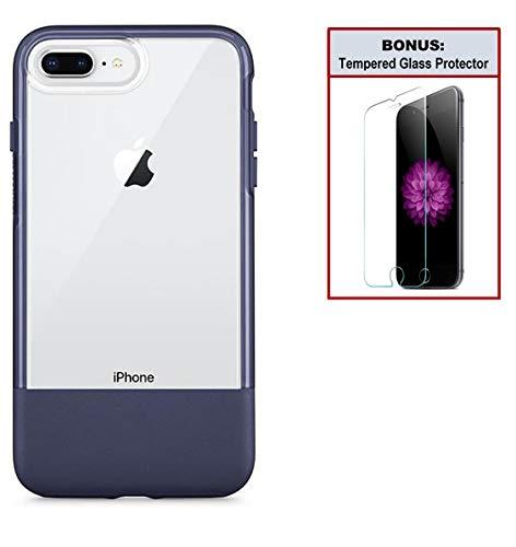 brand new 687e0 bde45 Otterbox Exclusive Bundle: Ultra-Slim Case for iPhone 8 Plus/7 Plus –  Extreme Drop Protection - Premium Leather - Scratch Resistant - Manhattan  ...