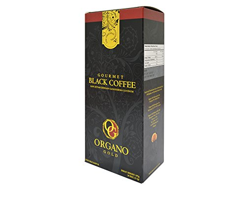2 Box Organo Gold Gourmet Black Coffee , Organo Gold Black Coffee Organic 100% Certified , Organo Gold Instant Coffee , Organo Gold Black Coffee