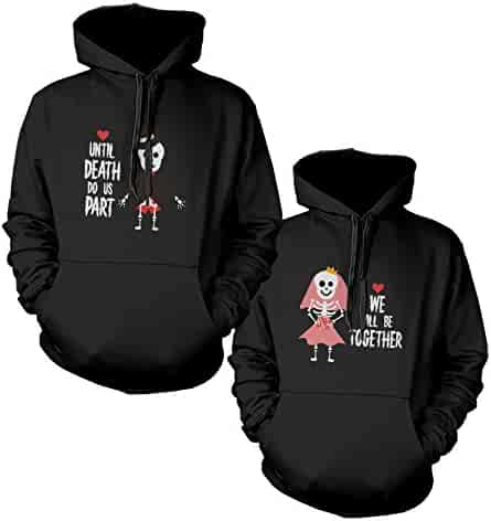 29396be4e2 365 In Love 365Printing Halloween Matching Hoodies Couple Horror Night  Hooded Sweatshirts