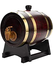 Ek fat, vintage ek vin dispenser trä vin fat vintage trä ek trä trä vin fat för öl whisky rom port 1,5 l