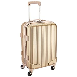 Rockland Melbourne 20-Inch Expandable Abs Carry On