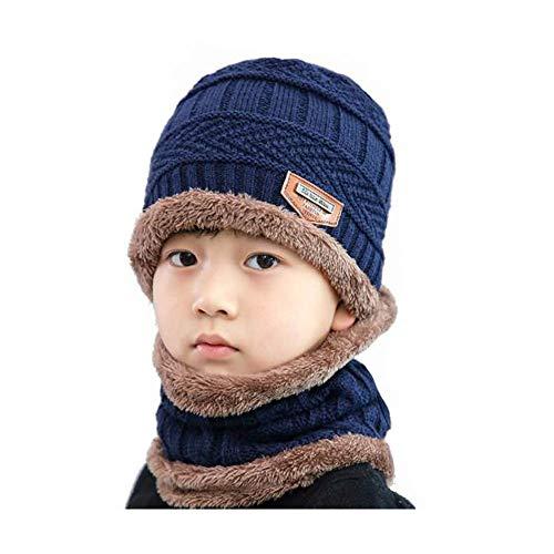 Baby Girls Boys Cool Blue Pilot Aviator Toddler Winter Earflap Beanie Hat