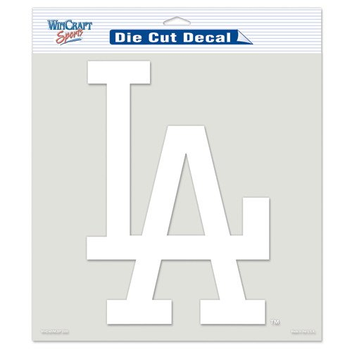 Los Angeles Dodgers Die Cut Car Window Sticker Decal (8x8 Inches) by ()