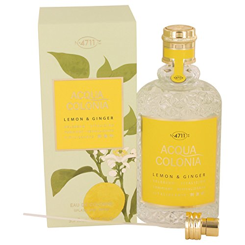 Price comparison product image 4711 Acqua Colonia Lemon & Ginger Eau De Cologne Spray - 170ml / 5.7oz
