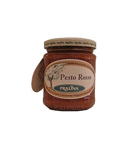 Pralina - Pesto rojo artesanal (pesto rosso) 180 gr: Amazon.es: Alimentación y bebidas