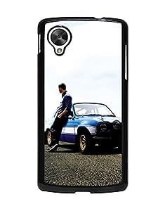 Famous Design Fast and Furious Design Printed Phone Funda Case For Google Nexus 5