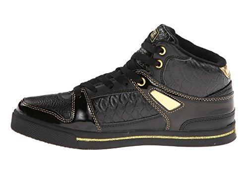 Moet Vrouwen Hiphop 2 Fashion Sneakers Zwart / Goud Flirten