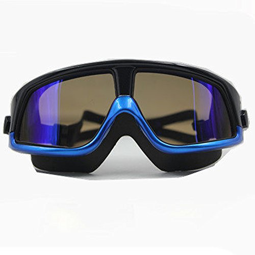 Lunettes de natation HD brouillard étanche grande boîte hommes et femmes enfants adultes lunettes de natation