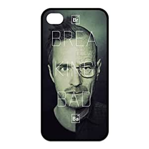Custom Breaking Bad Snap On Protection Rubber Case Cover For iPhone 4 4s TPU