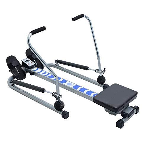 ZJZ Roeienmachine, Opvouwbare Roeier, Commerciële Stille Roeimachine, Indoor Indoor Rowing Machine,Huishoudelijke…