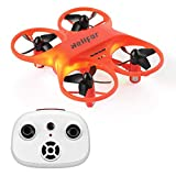 HELIFAR H8 Mini RC Drone RC Quadcopter with 360 Degree Rotation Function for Beginners, Anti-Collision and Most Suitable Remote Control Drone for Children and Beginners (Orange)