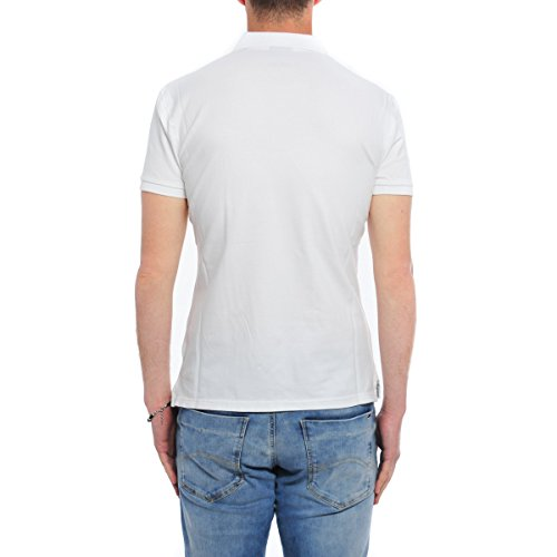 Blanc Napapijri Polo Homme Blanc Bianco Napapijri Polo Bianco Homme 4wqO4