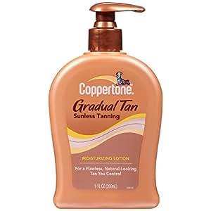 Coppertone Endless Summer Sunless Tanning Moisturizing Lotion, Gradual Tan, 9 fl oz (266 ml)