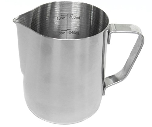 metal milk steaming pitcher - 4