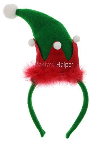 Bauer Pacific Women's Santa's Helper Elf Hat (Santas Helper Sexy Costumes)