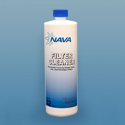Nava Chemicals 652139022 32-Ounce Filter Cleaner, 1-Quart Bottle by Nava Chemicals