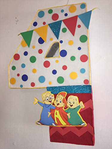 Alvin and the chipmunks pinata, alvin and the chipmunks birthday party