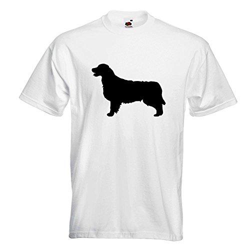 L Retriever 15 Di In M Modello Razza Man shirt Fun Pattern Golden S Cotone T Print Xl Diversi Bianco Xxl Cane Colori tUSqC