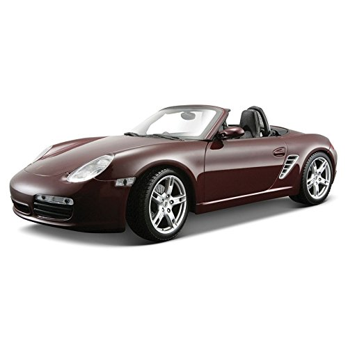 Porsche Boxster S Special Edition Maroon/Burgundy 1:18 Scale Collectible Die cast Model Car by Maisto