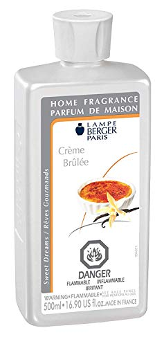 Creme Brulee | Lampe Berger Fragrance Refill by Maison Berger | for Home Fragrance Oil Diffuser | Purifying and perfuming Your Home | 16.9 Fluid Ounces - 500 milliliters | Made in France (Best Creme Brulee In Paris)