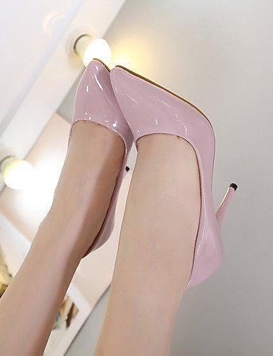 GGX/Damen Heels Fall Heels/spitz Zehen PU Casual Stiletto Heel andere schwarz/lila/violett/weiß andere white-us5.5 / eu36 / uk3.5 / cn35