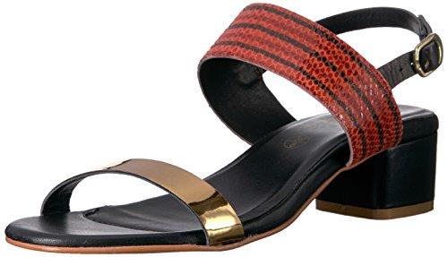 Flat Callisto Mishka Red Sandal Women's Xxwq4wvg