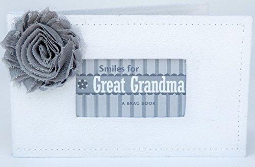 The Grandparent Gift Great-Grandma Gift Grandparent Photo Brag - Book Grandparents Brag