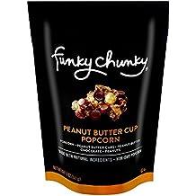 Funkychunky Peanut Butter Cup Popcorn Large Bag 5 Oz.