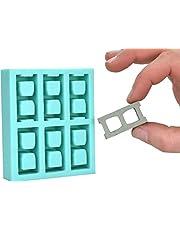Acacia Grove Miniature Cinder Block Mold, Silicone Rubber (1:10 Scale)