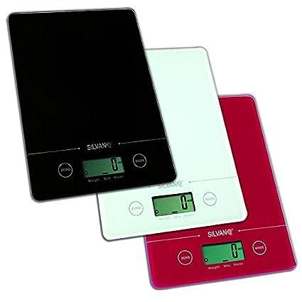 Bascula cocina electronica peso digital mide volumen agua y leche 1gr a 5 kilos