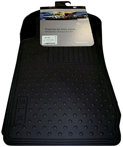 (Mercedes Benz OEM All Weather Season Floor Mats 1998 to 2004 SLK-Class Convertible SLK230 SLK320 SLK32 )