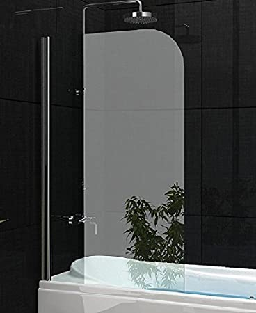 140 x 80 cm para bañera;era, mampara plegable de cristal | Efecto ...