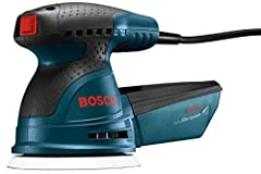 """The Bosch ROS20VSC 5"""" Random Orbit Sander/Polisher furnishes an optimized combination of pad orbit and rotation that delivers fast removal and a well-blended, ultra-smooth finish. This tool is designed to allow finish carpenters and cabinet m..."""