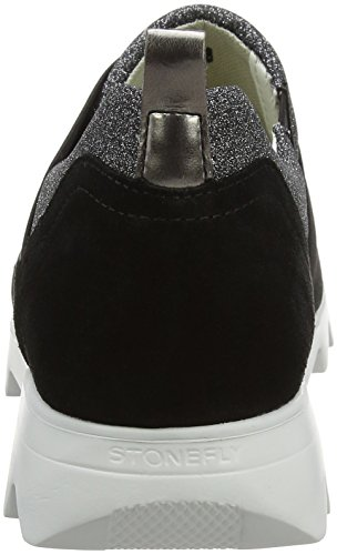 Stonefly Damen Speedy Lady 6 Sneakers Schwarz (NERO 000)