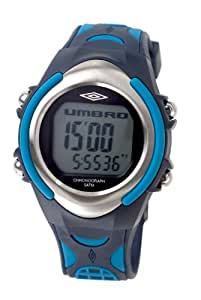 Umbro U873.04UMX - Reloj de caballero de cuarzo con correa azul - sumergible a 50 metros
