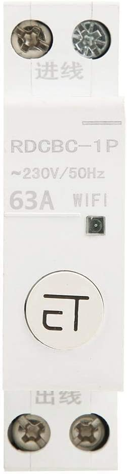 1P 63A Beennex Intelligent WiFi Circuit Breaker Remote Control Switch for Distribution Box 1P AC230V IP20
