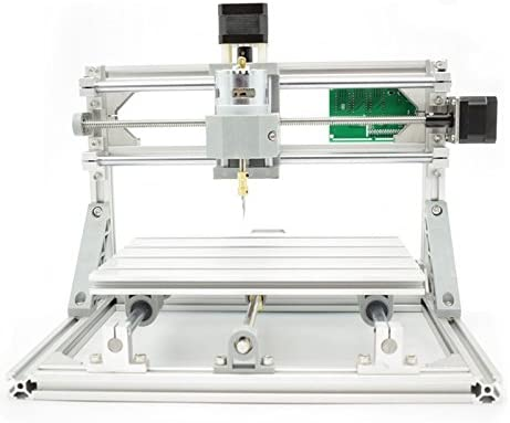 2-in-1 DIY CNC 24x18x4 5cm 3 Axis CNC Router Kit + 500mw