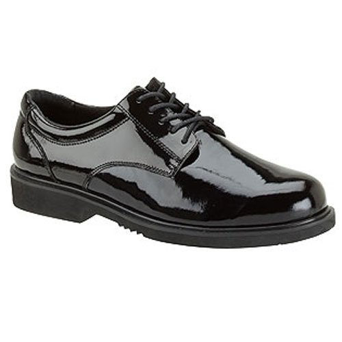 (Thorogood 831-6031 Men's Uniform Classics - Poromeric Oxford Shoe, Black - 11.5 XW US)