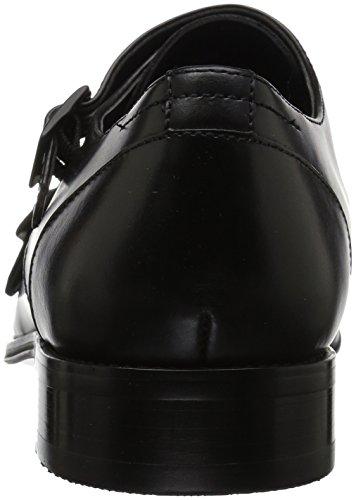 Kenneth Black Mens Cole Monk Loafer 20604 Strap Design REACTION x8OWcBx