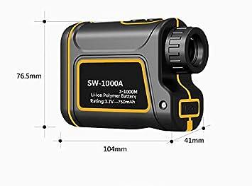 Entfernungsmesser Golf Laser Rangefinder Für Jagd Weiss 600 Meter : Gut günstig entfernungsmesser bresser rangefinder youtube