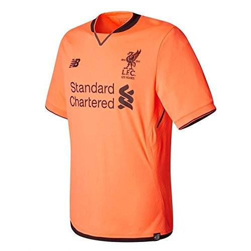 26625341a1d 2017-18 Liverpool Third Football Soccer T-Shirt Jersey (Mohammad Salah 11)