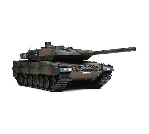 Tamiya 1/16 Leopard 2A6 RC Battle Tank Full-Option