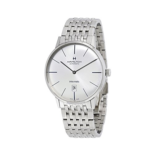 Hamilton Men's H38755151 Timeless Class Analog Display Automatic Self Wind Silver Watch