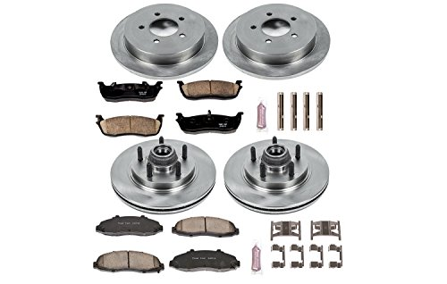 - Autospecialty KOE1915 1-Click OE Replacement Brake Kit