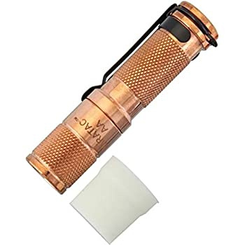 Amazon Com Maratac Aa Copper Flashlight Sports Amp Outdoors
