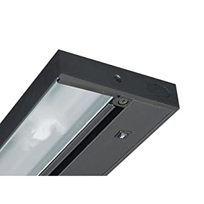 Juno Lighting Group UPLED09-BL 9-Inch Pro-Series 2-Lamp LED Under Cabinet Fixture, Black