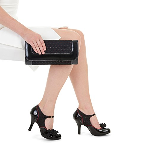 Matching Mary Jane Pumps Noir Bag Ruby Shoo amp; Women's Ashley Charleston qZAI0tnR