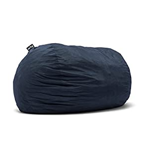 Big Joe 0001657 XX-Large Fuf Foam Filled Bean Bag Chair, XXL, Cobalt Lenox